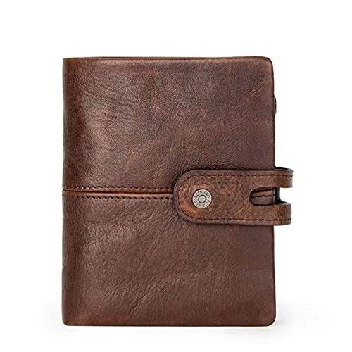 [ライミホト] 財布 メンズ 二つ折り レザー 本革 牛革 小銭入れ カード13枚収納 大容量 人気 一流の財布職人が作る ビジネス ギフト