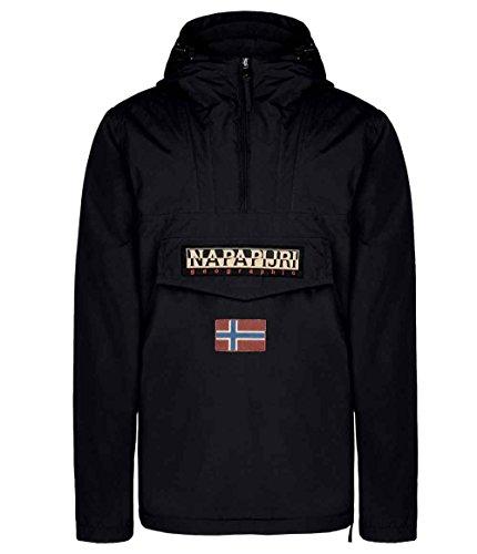 NAPAPIJRI Rainforest Winter A, chaqueta para hombre negro Medium