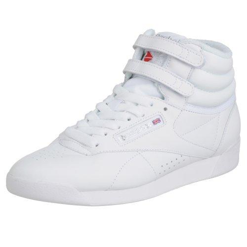 Reebok Reebok Damen Freestyle Hi High-Top, Weiß (Int-White/Silver), 37.5 EU