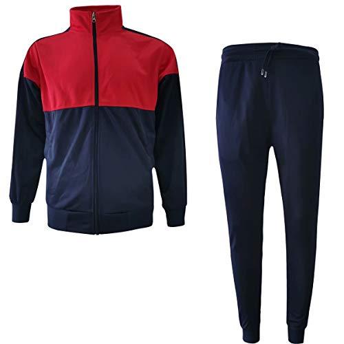 URBEX Conjunto de Sudadera con Capucha y pantalón Casual para Hombre - Multicolor - Large