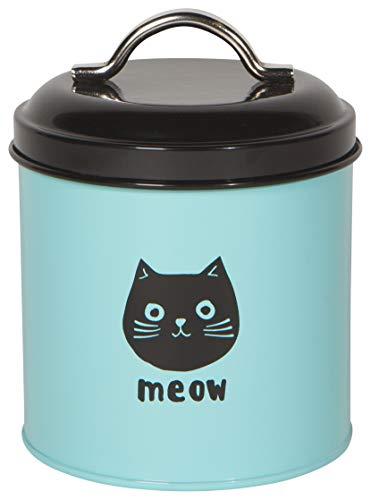 Now Designs 5088001aa Cat Treat Tin, Cats Meow