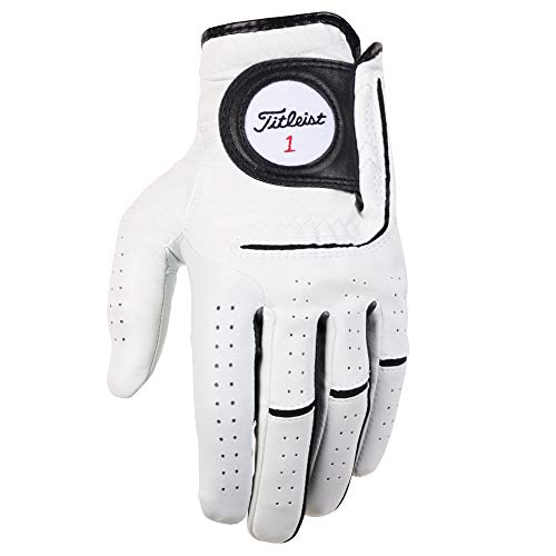 Titleist Players-Flex Mens Cad LH Pearl, White(X-Large, Worn on Left Hand)