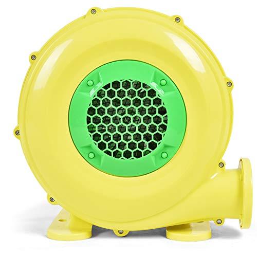 COSTWAY 450W Gebläse Luftpumpe Ventilator Windmaschine Lüfter elektrisch für aufblasbare Spielzeuge 660m³/H 1650Pa