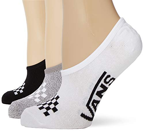 Vans Basic Assorted Canoodle 1-6 3pk, Calcetines Casual para Mujer, Multicolor (Multi 448), Talla única