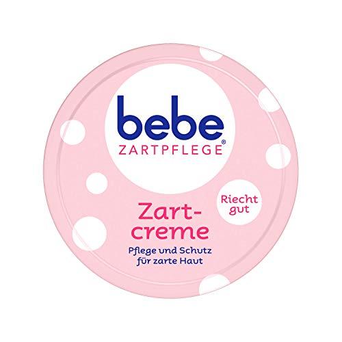 6x 150 ml bebe Zartpflege Zartcreme Pflege & Schutz für zarte Haut angenehmer Duft (6er Pack)