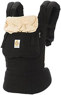 美国 Ergobaby 基本款婴儿背带-黑色/驼色BC6CANL(进口)