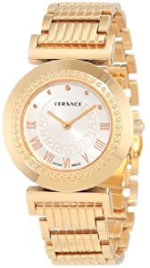 Versace Women's P5Q80D001 S080 'Vanitas' Rose Gold Ion-Plated Watch image