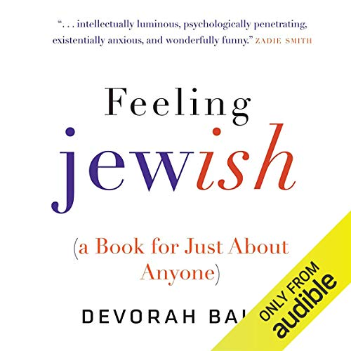 Feeling Jewish (A Book for Just About Anyone) cover art