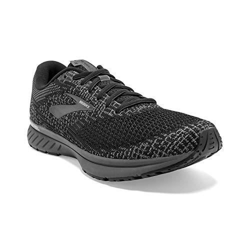 Brooks Mens Revel 3 Running Shoe - Black/Pearl/Primer - D - 12.0