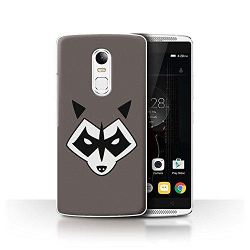 Hülle Für Lenovo Vibe X3 Superheld Comic-Kunst Rocket Raccoon Inspiriert Design Transparent Ultra Dünn Klar Hart Schutz Handyhülle Case
