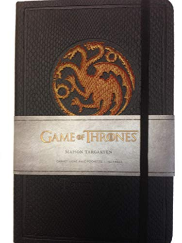 Game of Thrones (Le Trône de Fer) - Carnet Luxe Targaryen