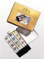 Winsor Newton 12 Half Pan Assorted Water Colour Paints In A Heavyweight Enamelled Box Don T Miss Hopptoei