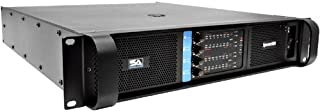 Seismic Audio - Epicenter5004 - 4 Channel Power Amplifier - 2000 Watts RMS @ 8 Ohms - 3400 Watts RMS @ 4 Ohms