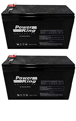 Exide EP1234W Replacement 8AH AGM Battery with F2 Terminals Beiter DC Power