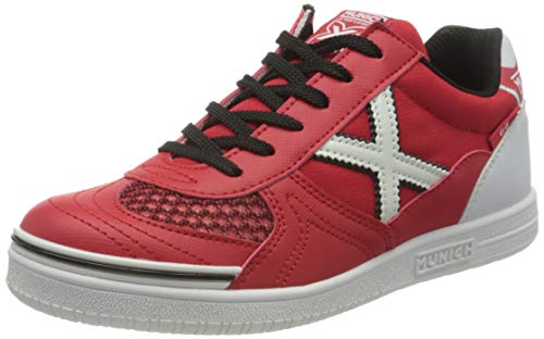 Munich G 3 KID INDOOR 68, Zapatillas Niño, Rojo, 37 EU