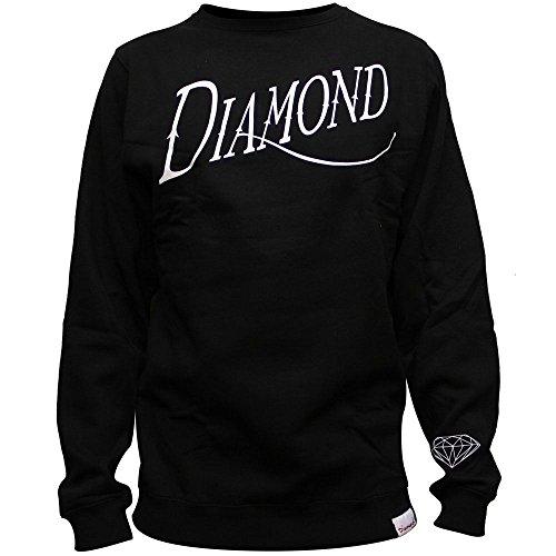 Diamond Supply Co. Old Script Sweatshirt Black