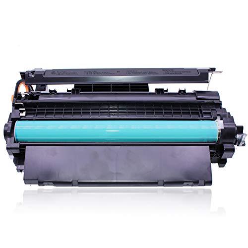EODPOT Cartucho De Tóner CE255A, for HP Laserjet P3015/3015D/3015N/ 3015X/3015DN/P3010/Enterprise 500MFP/M525DN, Cartucho De Tóner Láser Fácil De Reemplazar con Impresión C 1 pcs Black