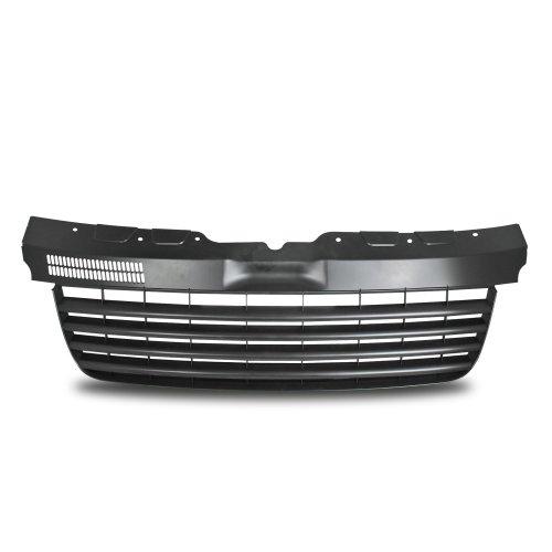 Preisvergleich Produktbild Kühlergrill Sportgrill Gitter Front Grill ohne Emblem Schwarz (Fahrzeugspezifisch)