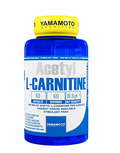 Yamamoto Nutrition Acetyl L-Carnitine 1000Mg Suplemento Diet