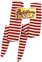 Rubie's Red and White Striped Socks - Adult Std.