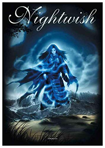 Poster Drapeau Officiel - Official Merchandise Band Posterflag - Nightwish - Ghost Love S