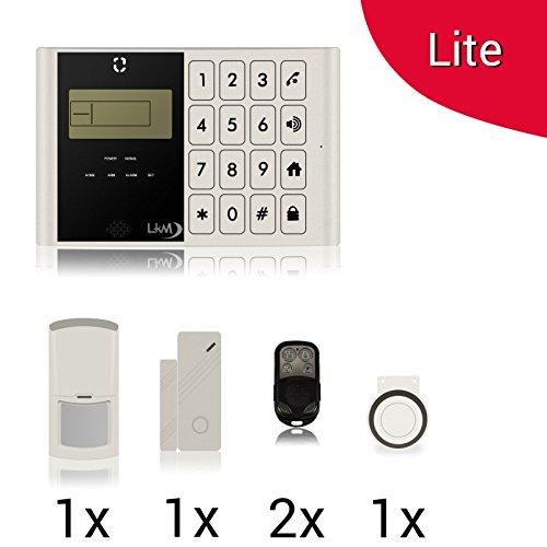 Kit Lite M2C Alarminstallatie voor huis LKM Security draadloze draadloze kabel van mobiele telefoon met gratis app