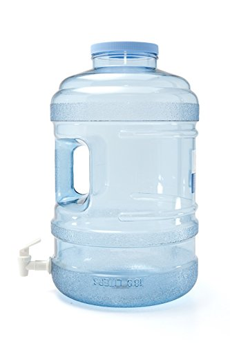 Bluewave Lifestyle PK50GH-120V BPA Free Water Bottle with Big-Mouth & Dispensing Valve, 5 gallon