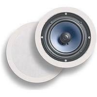 Polk Audio RC60i Altavoz 100 W Negro, Blanco - Altavoces (Alámbrico, 100 W, 40-20000 Hz, 8 Ω, Negro, Blanco)