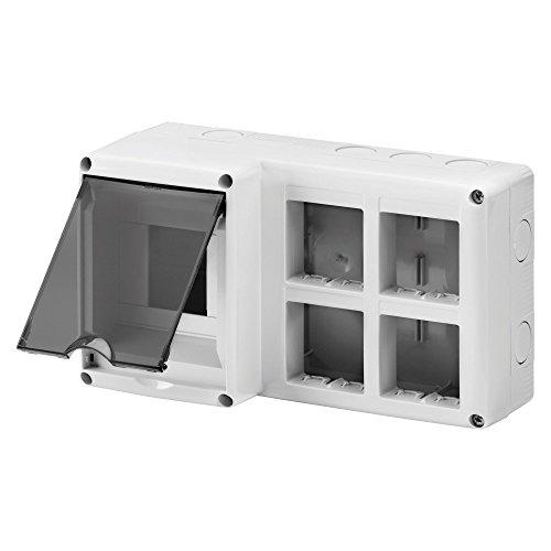 Gewiss GW27072 IP40 caja eléctrica - Caja para cuadro eléctrico (231 mm, 95 mm, 132 mm)