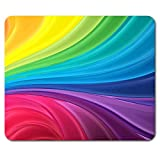 Colourful Rainbow Colours Mouse Mat Pad - Art Mum Sister Fun Gift Computer #8886