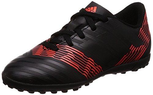 adidas Unisex Nemeziz Tango 17.4 TF Fußballschuhe, Schwarz (Cblack/Solred), 36 EU