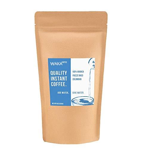 Waka Coffee Quality Instant Coffee, Colombian, Medium...