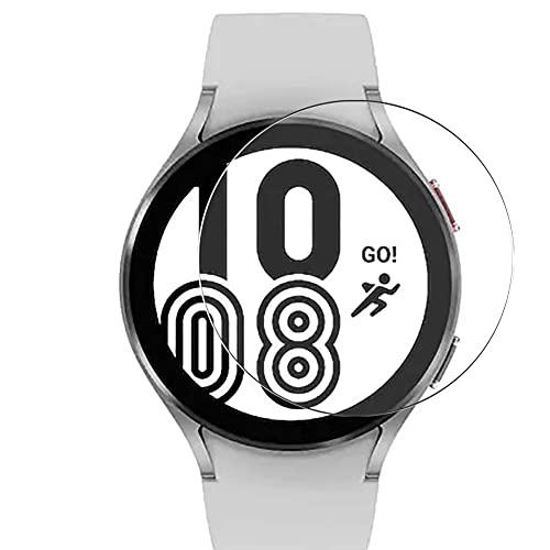 Vaxson 3 Unidades Protector de Pantalla, compatible con Samsung Galaxy Watch 4 40mm [No Vidrio Templado Carcasa Case ] Película Protectora Film Guard