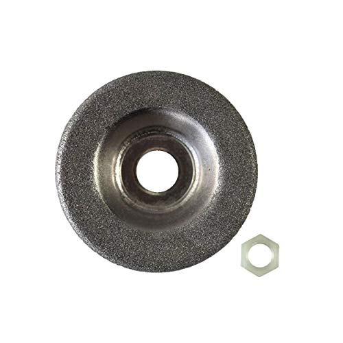 Disco abrasivo de repuesto con tuerca, apto para Parkside PSS 65 A1 - LIDL IAN 306861