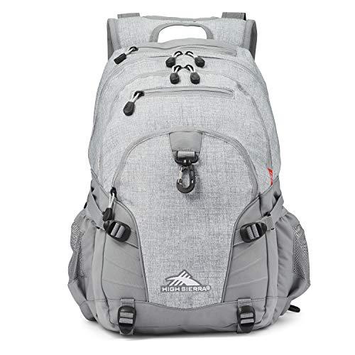 High Sierra Loop Backpack, 19 x 13.5 x 8.5-Inch, Silver Heather