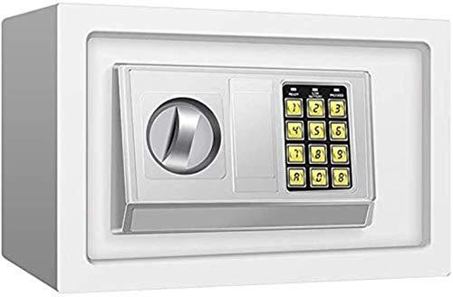 GGDJFN Safe Anti-Diebstahl-Schließfach, mit Lock-Banknote Piggy Bank Hausratversicherung Box stählernen Small Wert Sicher, Digitaler Tastatur, Schrank Safes for ID-Papiere, Dokumente, die Laptop-Compu