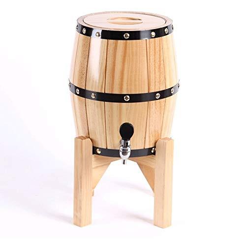 SHIJIAN Barilotto del Whisky di Quercia Americana da 5 Litri |Realizzato a Mano usando Quercia...