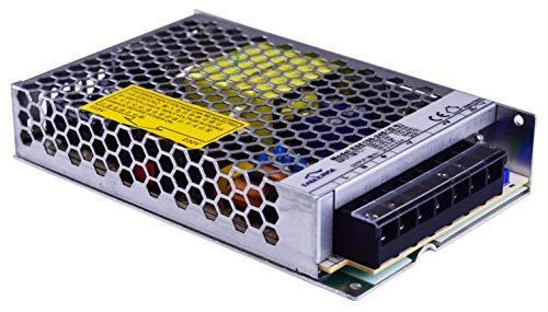 HuaTec Eaglerise Transformador LED 12V 24V 6W 9W 30W 60W 120W Tensión Constante Sin Parpadeo Flickerfree para Tira LED Alimentador Fuente de Alimentación LED (24V 150W Low Cost)