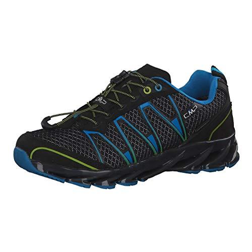 CMP Altak 2.0, Zapatillas de Running para Asfalto Unisex Adulto, (Nero-River-Cedro 49ud),...
