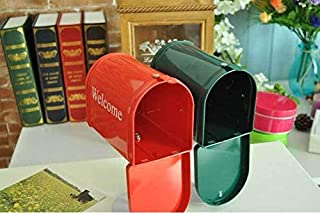 New arrival photo props/home decoration Mailbox with stand/Storage for Letter Box/greeting/post card Free Shipping