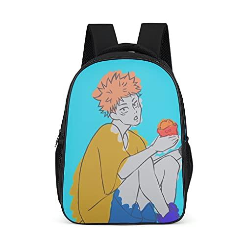 Backpack Jujutsu Kaisen Sukuna Design Bookbag Water-Resistant Daypack School Bag for Boys Girls bright gray onesize