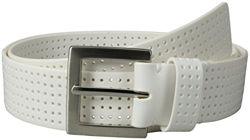 PGA TOUR Men's Perforated Fashion Color Silicone Belt