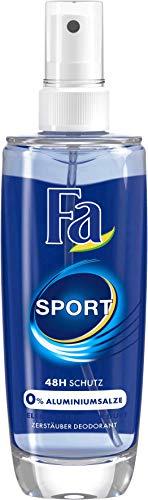 FA Zerstäuber Deodorant Sport mit belebend-frischem Duft, 5er Pack (5 x 75 ml)