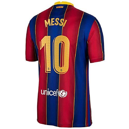 Soccer Kingdom Unlimited Messi #10 Barcelona Home Men's Jersey 20-21 (S)
