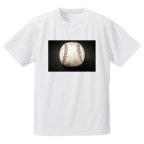 ボール 野球ボール 硬球 フォトプリントTシャツ