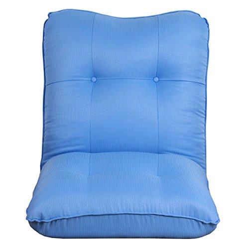 Private home textiles Tatami Chaise de Sol,Canapé canapé Pliant Paresseux-Chaises Longues Chaise transat Style décontracté Japonais pour la Baie vitrée-A