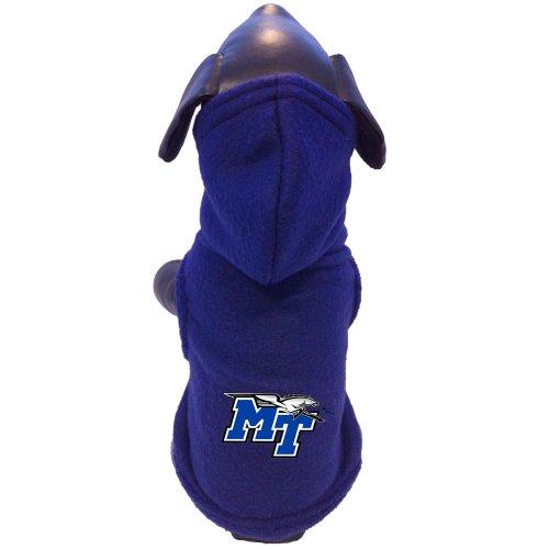 All Star Dogs NCAA Mitte Tennessee State blau Raiders Polar Fleece Hund Hooded, Herren, blau, M