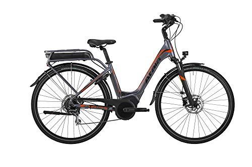 Atala Bici elettrica B-Easy SL Ltd Modello 2019 28'' 8V M.50 Motore Bosch, Colore Antracite - Arancio