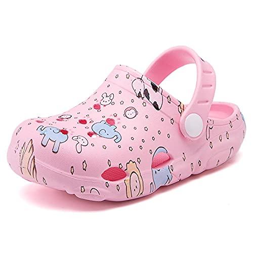 NISHIWOD Zapatillas Casa Chanclas Sandalias Nuevos Zapatos De Jardín De Moda Zapatillas Zuecos De Jardín Zapatos 28 Pink0912