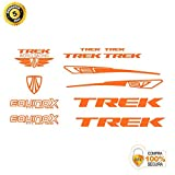 ADHESIVOS MOTOS CLASICAS Bike Stickers - Bike Decorative Sticker - Vinyl Bike Sticker Set Trek 12 Stickers Bike Frame Bike Mountain